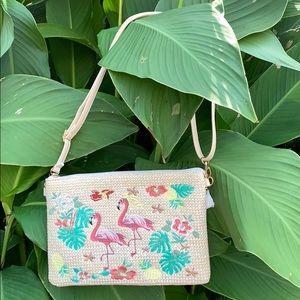 Handbags - Flamingo Convertible Bag